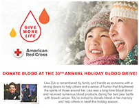 American Red Cross Blood Drive Poster - IMO