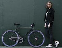 4 Postkarten für Permanent Fahrrad