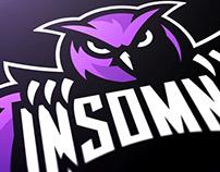 Insomnia Esports Mascot Logo