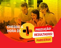 Logotema desenvolvido para Campanha de incentivo Olé