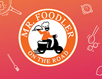 Logo & Brand Identity Design - MR. FOODLER