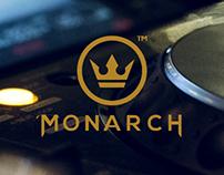 Branding (concept work) - Monarch Lounge
