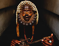 They Still Live - DNA, Photography, and African masks