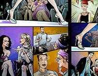 Comics for SNC magazine