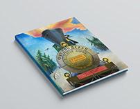 Finland Railroad book design and illustrations