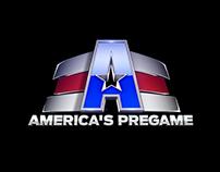 Americas Pregame Logo Design