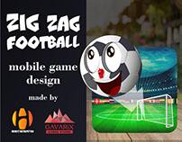 ZigZag Football mobile game design