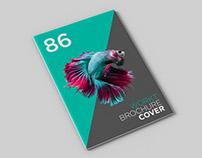 Free A4 brochuremockup set