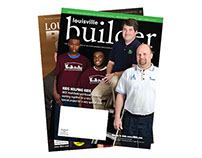 Louisville Builder Magazine Redesign