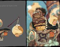 Garlic, Clams, a Lantern & Osamu's Pelt