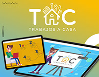 TAC Trabajos a casa - Motion graphics