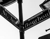 New Orleans in Black & White