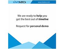 Livetecs.com SMM Content Calendar, Strategy & Creative