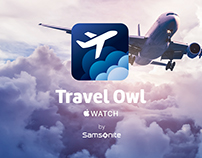 Travel Owl jet lag app for Samsonite