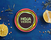 Hoja Verde Chocolate - Branding