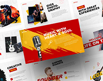 Spectacle - Music Event Powerpoint and Keynote Template