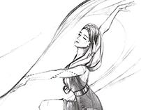 Futuristic ballet