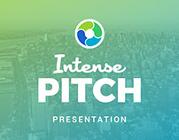 Intense Pitch Deck Powerpoint Template