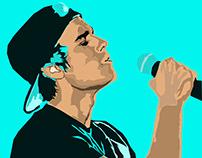 Justin Bieber Illustration