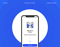 Coinly - A cryptocurrency trading mobile app
