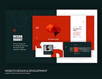 Design Rabbit Website. UI/UX