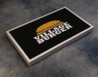 Village Burger, Corporate Design
