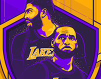 NBA 2019 - LA Lakers