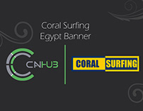 Coral Surfing Egypt | Banner