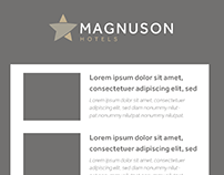 Magnuson Hotel - Newsletter templates