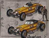 History race car