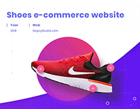 Shoes e-commerce website