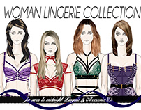 WomanLingerie Collection for Seven to Midnight Brnd USA