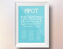 PIPOT Font