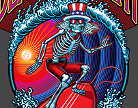 Dead & Company July 2016 California Tour T-shirt