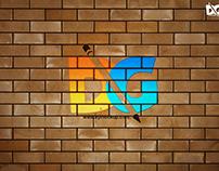 Free Brick PSD Logo Mockup