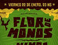 Afiche FLOR DE MONOS