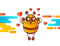 YeloBee Stickers