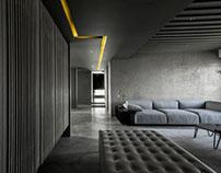 Apartment in Shanghai by Wei Yi International