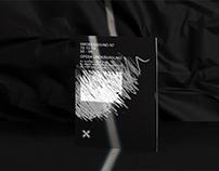 Smoke&Sound. Logo & visual identity VII party.