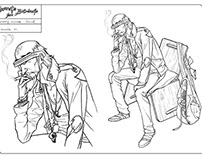 TFB - concept art for a comic book