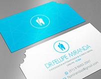 Dentist visits card (Cartão de visitas para dentista)