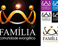 Logotipo Comunidade Evangélica Família