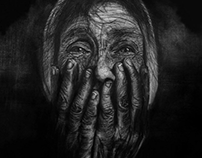 old charcoal drawings.