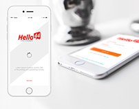 Hello44 Mobile App Design
