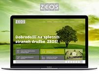 Spletne strani / Web Page ZEOS