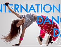 International dance day poster