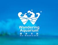 北京漫步水族logo  |  Beijing Wandering Aquarium logo
