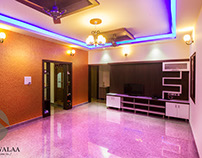 Independent House Interiors of Eran Gowda , Bangalore