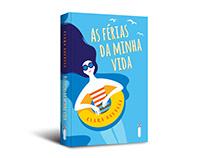 """Cover design of """"As férias da minha vida"""""""