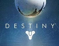 Xbox Destiny Dashboard Design